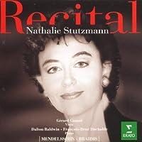 Recital: Nathalie Stutzmann by Mendelsshon