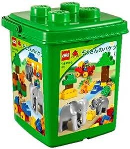 レゴ (LEGO) デュプロ  ぞうさんのバケツ 7614 (旧バージョン)