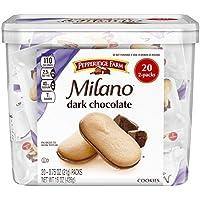 Pepperidge Farm(ペパリッジファーム), ミラノ(Milano) ダークチョコレート(Dark Chocokate) 20 Packs [並行輸入品]