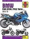 ヘインズ刊「BMW F650,F700,F800 Twins (06-16)」サービスマニュアル
