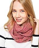 レディース ニット スヌード マフラー ストール 大判 スカーフ もこもこ 秋冬 防寒 ネックウォーマー