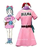ドラゴンボールZ ブルマ ◆コスプレ衣装  男女XS-XXXL オーダー可能 クリスマス、ハロ...