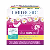 Natracare Ultra Extra Pads with Wings, Normal, 12 Count by NATRACARE