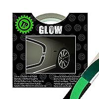 THE GLOW(ザ・グロウ) GREEN 幅19.05mm×長さ9.1m 塗装を侵さないリフレクター リムテープ TIRE PENZ製