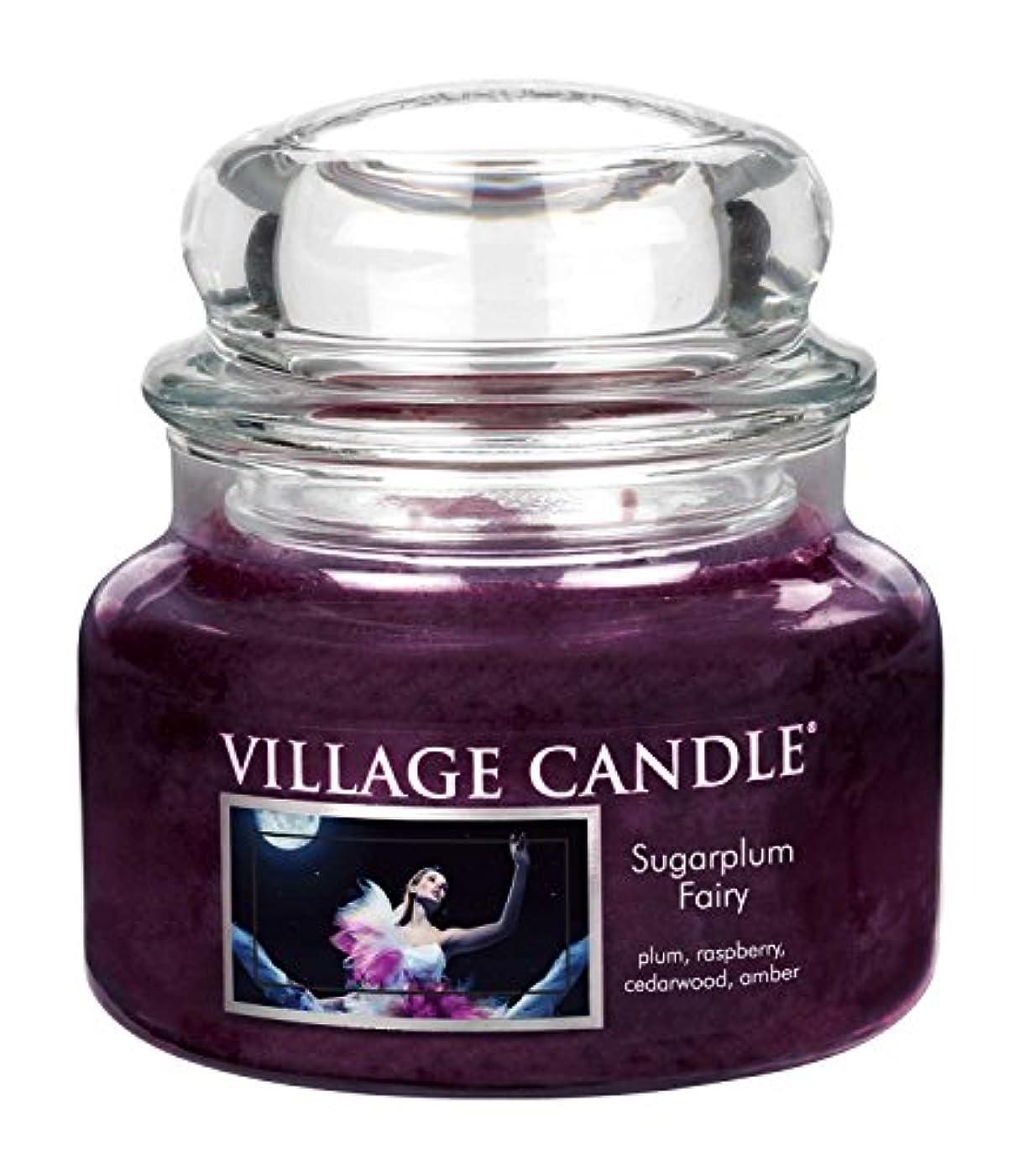 ドック破壊的ブロッサム(Small (330ml)) - Village Candle Sugarplum Fairy 330ml Glass Jar Scented Candle, Small