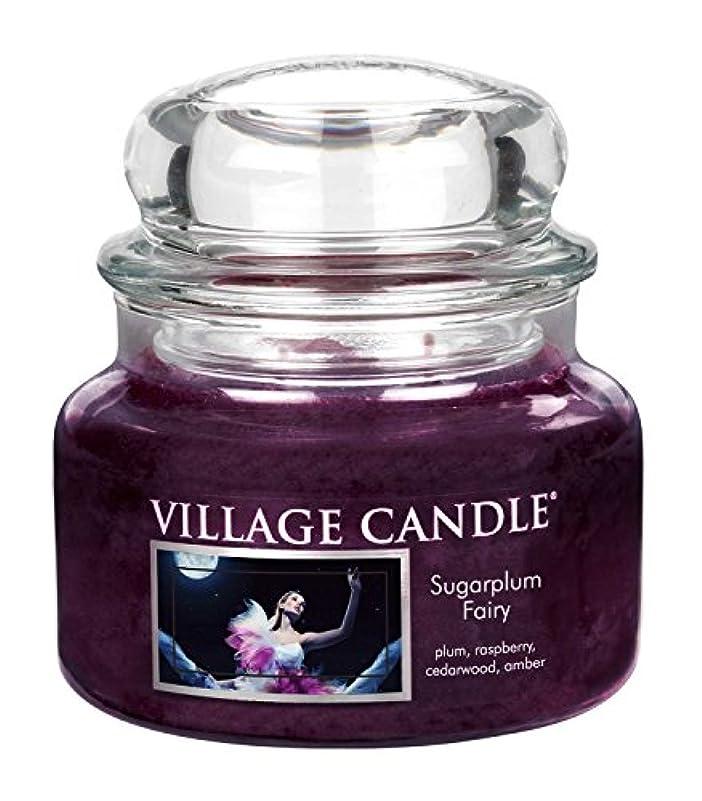 内側住居建設(Small (330ml)) - Village Candle Sugarplum Fairy 330ml Glass Jar Scented Candle, Small