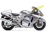 GSXR1300 GSXR 1300 GSXR R1300 カウリングセット 99 00 01 02 03 04 05 06 07 Hayabusa オートバイ ボディワークキット フェアリング 銀 (射出成形)