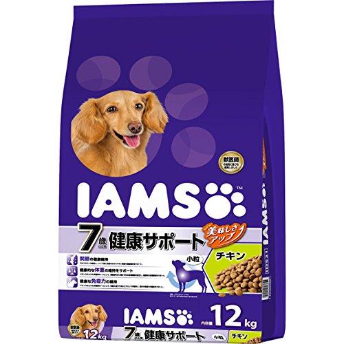 アイムス (IAMS) シニア犬 7歳以上用 健康サポート チキン 小粒 12kg
