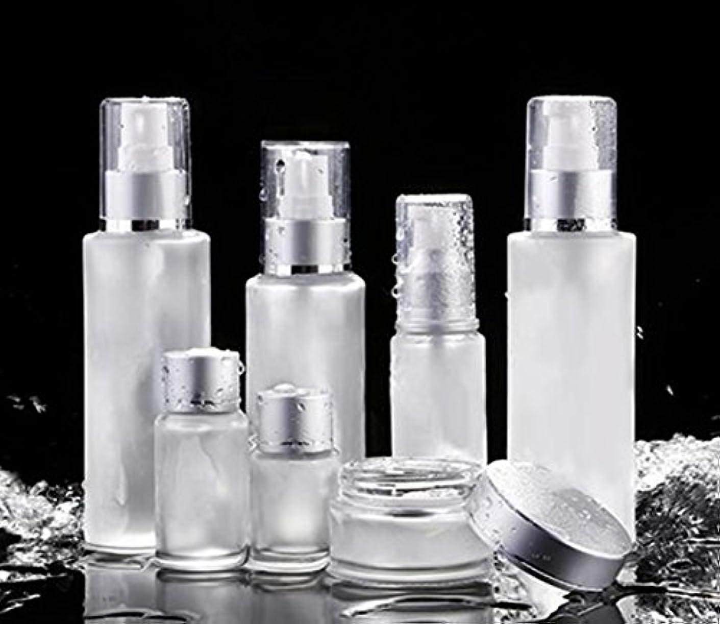 極地八限界ShopXJ 化粧水 容器 スプレー 詰め替え 携帯 ボトル プッシュ ボトル 旅行 お出かけ 外泊に (50ml)
