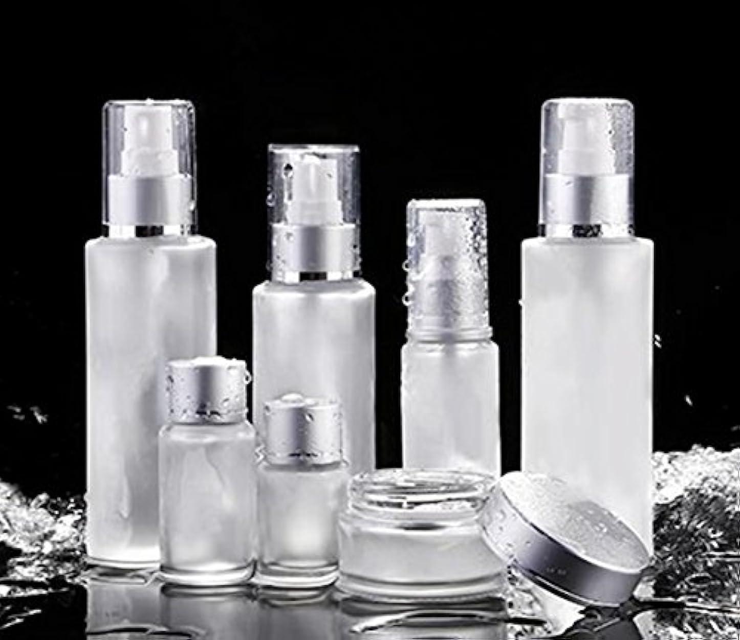 打撃私の前売ShopXJ 化粧水 容器 スプレー 詰め替え 携帯 ボトル プッシュ ボトル 旅行 お出かけ 外泊に (30ml)