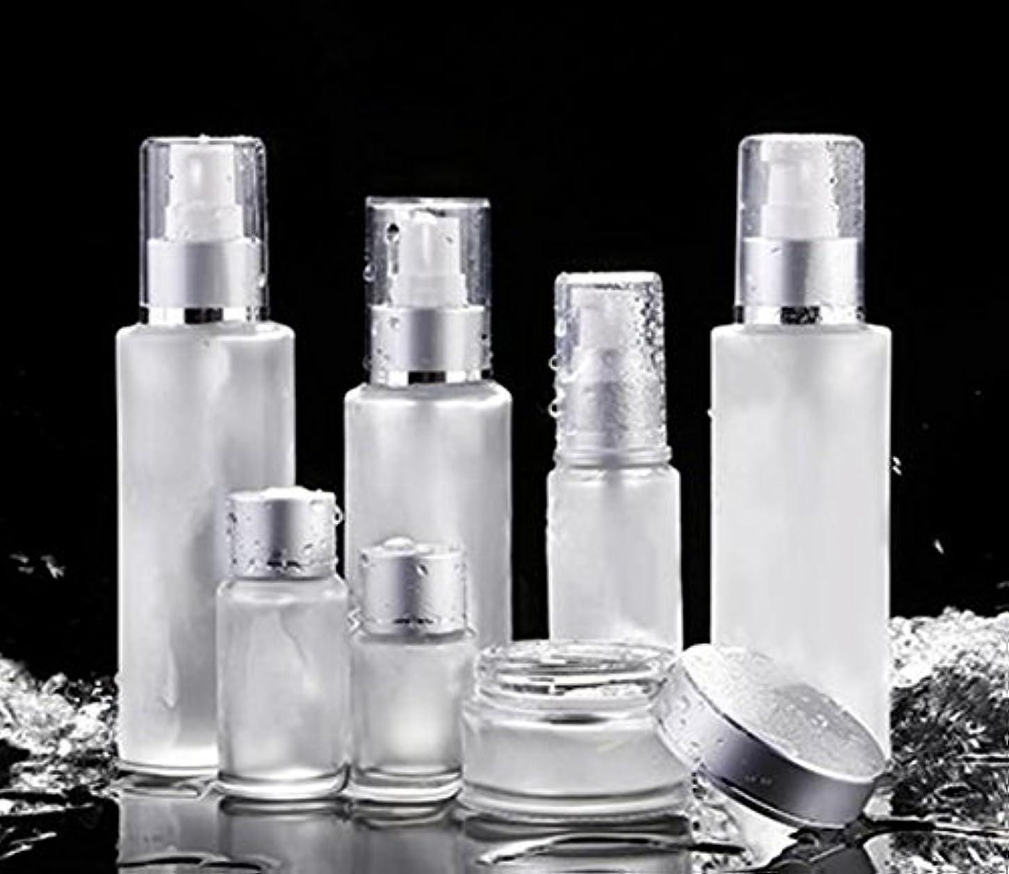 社会必須香ばしいShopXJ 化粧水 容器 スプレー 詰め替え 携帯 ボトル プッシュ ボトル 旅行 お出かけ 外泊に (15ml)