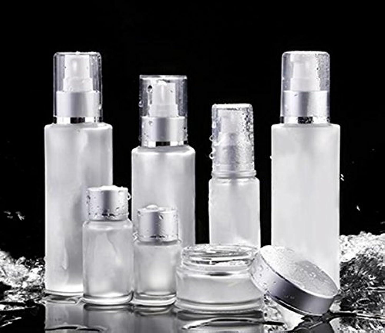 ShopXJ 化粧水 容器 スプレー 詰め替え 携帯 ボトル プッシュ ボトル 旅行 お出かけ 外泊に (50ml)