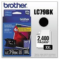 Brother–lc79bk ( lc-79bk ) Innobellaスーパー大容量インク、400台page-yield、ブラックlc79bk ( DMI EA