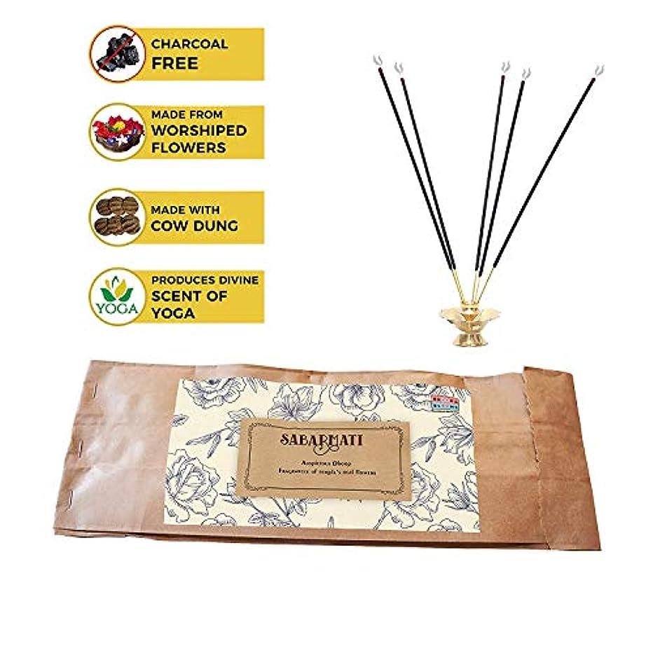トライアスロン衣服エンドテーブルBrook and Blooms Oragnic and Non Toxic Natural Ayurvedic Incence Sticks/Agarbatti Stick Made of Upcycled Flower