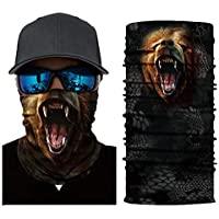 Large Capacity Outdoor Equipment 3D Warm Mask (Color : A, Size : One Size)