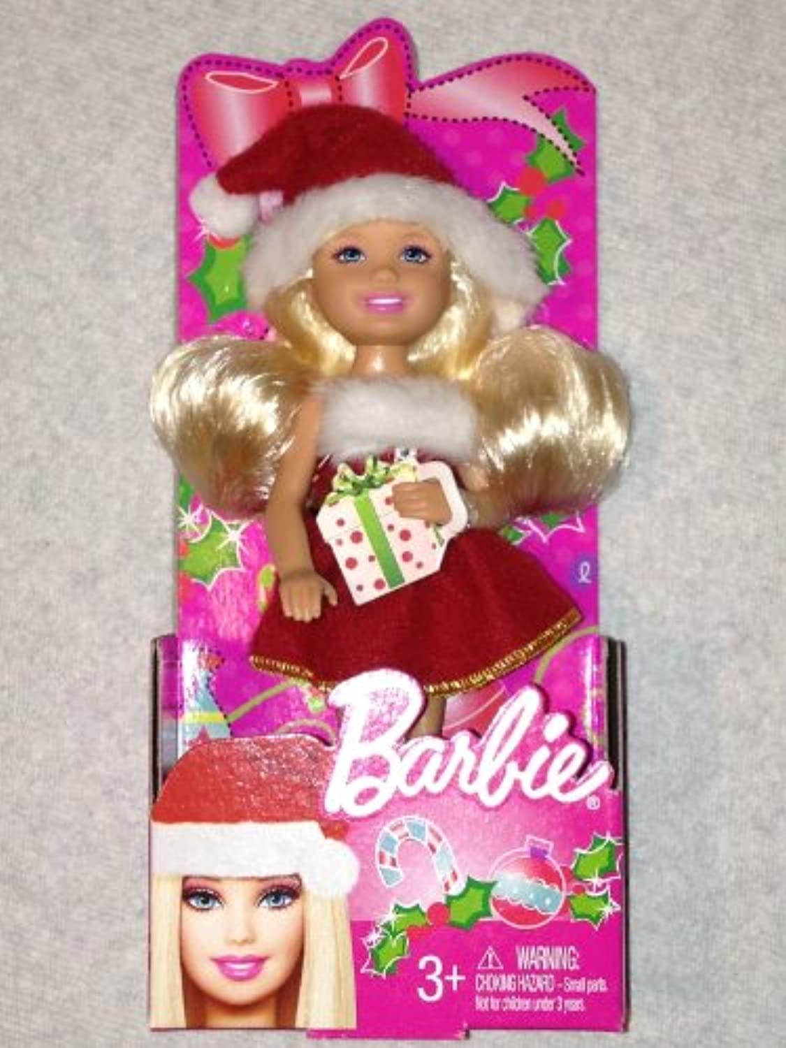 Mini Barbie Holiday Doll 2012 - Collectible - Stocking Stuffer