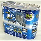 REMIX [ レミックス ] スパークビーム ハロゲンバルブ H4切替/5300K 極太ホワイト [ 品番 ] YS30
