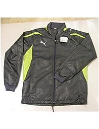 PUMA パワーキャット5.10 ウラトリコットキモウ ウィンドブレーカーシャツ 652516 グレー L
