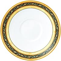 Wedgwood India One Tea Saucer, White/Multicolor by Wedgwood [並行輸入品]