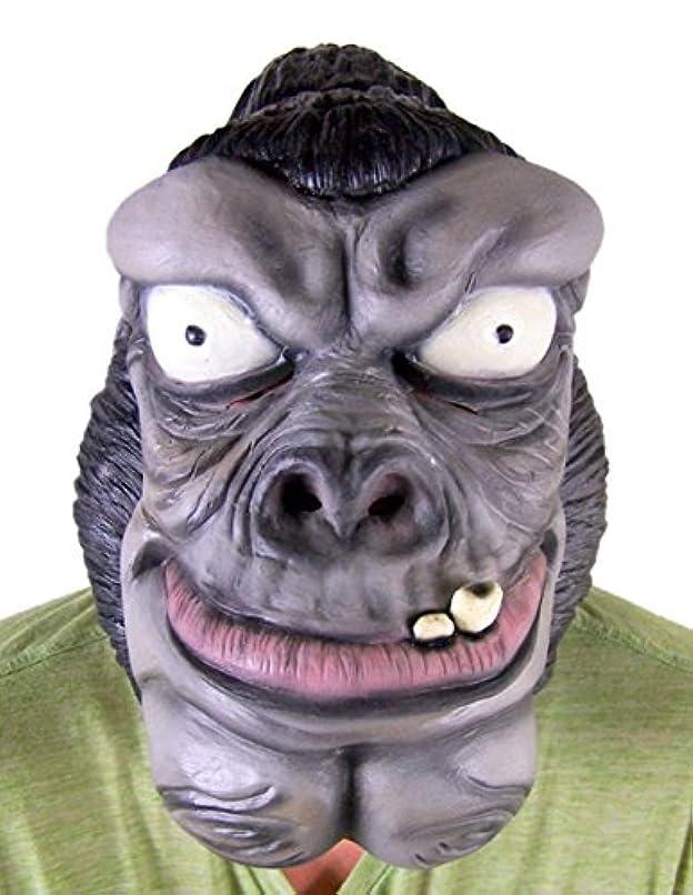 満員土地雇うGorilla Mask ADULT_COSTUME メンズ US サイズ: One Size カラー: ブラック