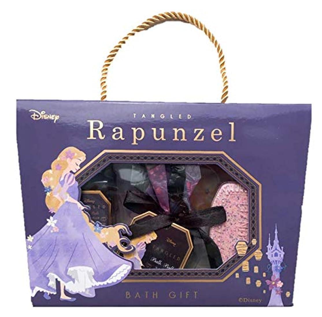霊シャワー名声ディズニー(Disney)SHO-BI バスギフトM ギフトセット ラプンツェル ディズニープリンセス 塔の上のラプンツェル 入浴剤 ギフト バスギフトセット プレゼント 大人 女の子 かわいい Rapunzel