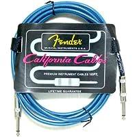 【国内正規品】Fender(フェンダー) California Cables カリフォルニアケーブル 10FT(約3m) 099-0410-002/LPB レイク・プラシッド・ブルー