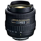 Tokina 魚眼ズームレンズ AT-X 107 DX Fisheye 10-17mm F3.5-4.5 (IF) ニコン用 APS-C対応