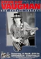 Stevie Ray Vaughan–Soul To Soul 1986–Concertポスターplakat