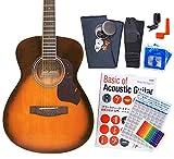 アコースティック・ギター アコギ 初心者 12点セット Legend FG-15 CST べっ甲柄ピックガード仕様 S-VS [98765]