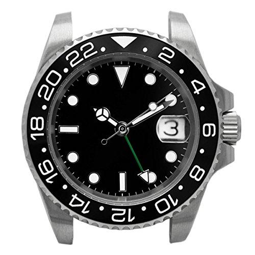 NOLOGO(ノーロゴ) 腕時計 GMTマスター 電池式クォ...