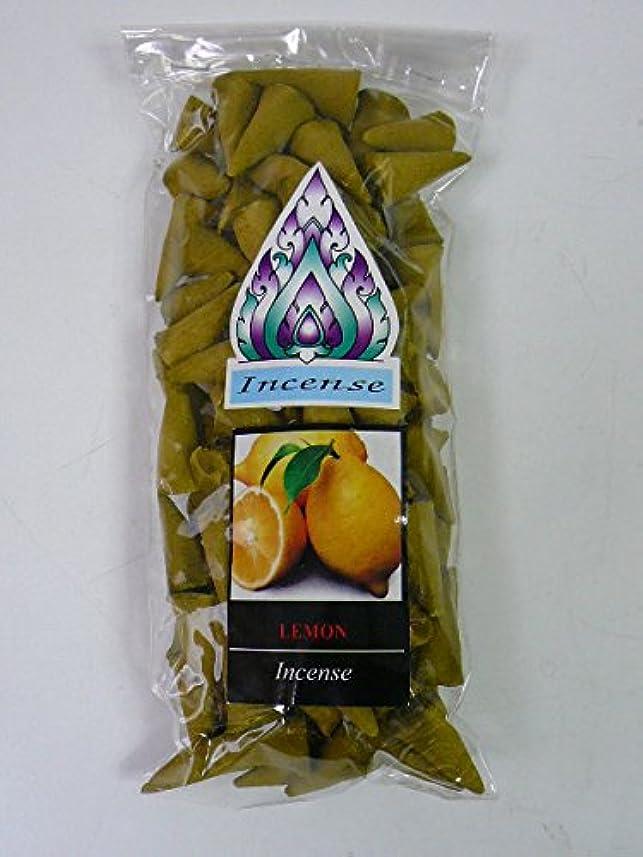 学期教授累積レモン コーンタイプのお香 [並行輸入品]