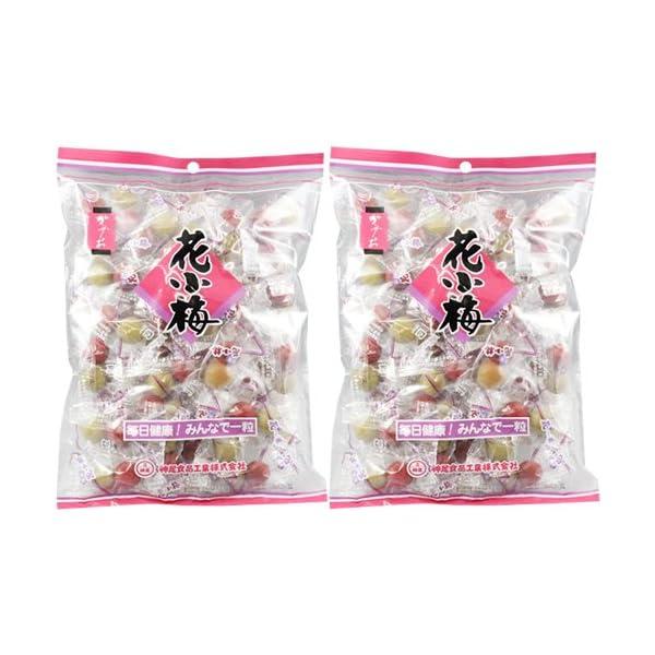 神尾食品工業 ミニ花小梅45p 225g×2個の商品画像
