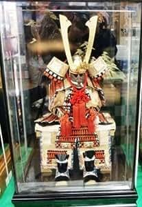 五月人形 No.10002 久月作 鎧飾り山水塗ケース入