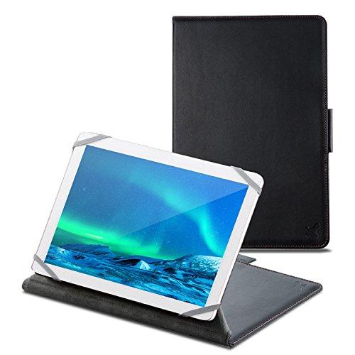 タブレット汎用ブックタイプケース/ソフトレザー/カメラ対応/8.5~10.5inch/ブラック TB-10CMLBK 1個