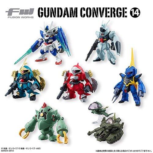 食玩 FW GUNDAM CONVERGE 14 (ガンダム コンバージ14) 【全7種フルセット】 フルコンプ