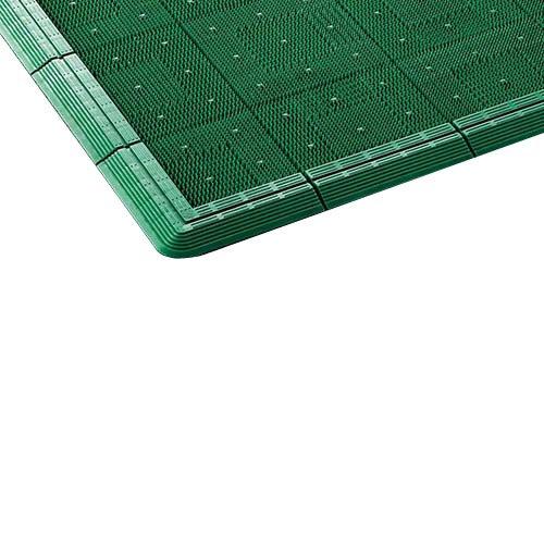 山崎産業 エバックスターマット (#6) グリーン