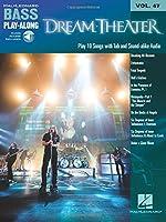Dream Theater: Bass Play-along Volume 47 Book/2-cd Pack (Hal Leonard Bass Play-Along)