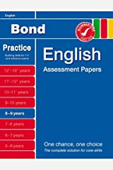 Bond English Assessment Papers 8-9 years Paperback