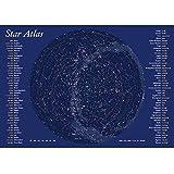 美しく光るポスター 北天夜光大星図