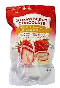フリーズドライ苺のチョコレート菓子 ストロベリーチョコレート お徳用192g