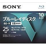 ソニー SONY 25GB 4倍速10枚 10BNR1VLPS4 BD-