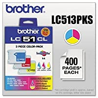 Brother LC-51 Ink Cartridge ( Cyan,Magenta,Yellow , ) by Brother