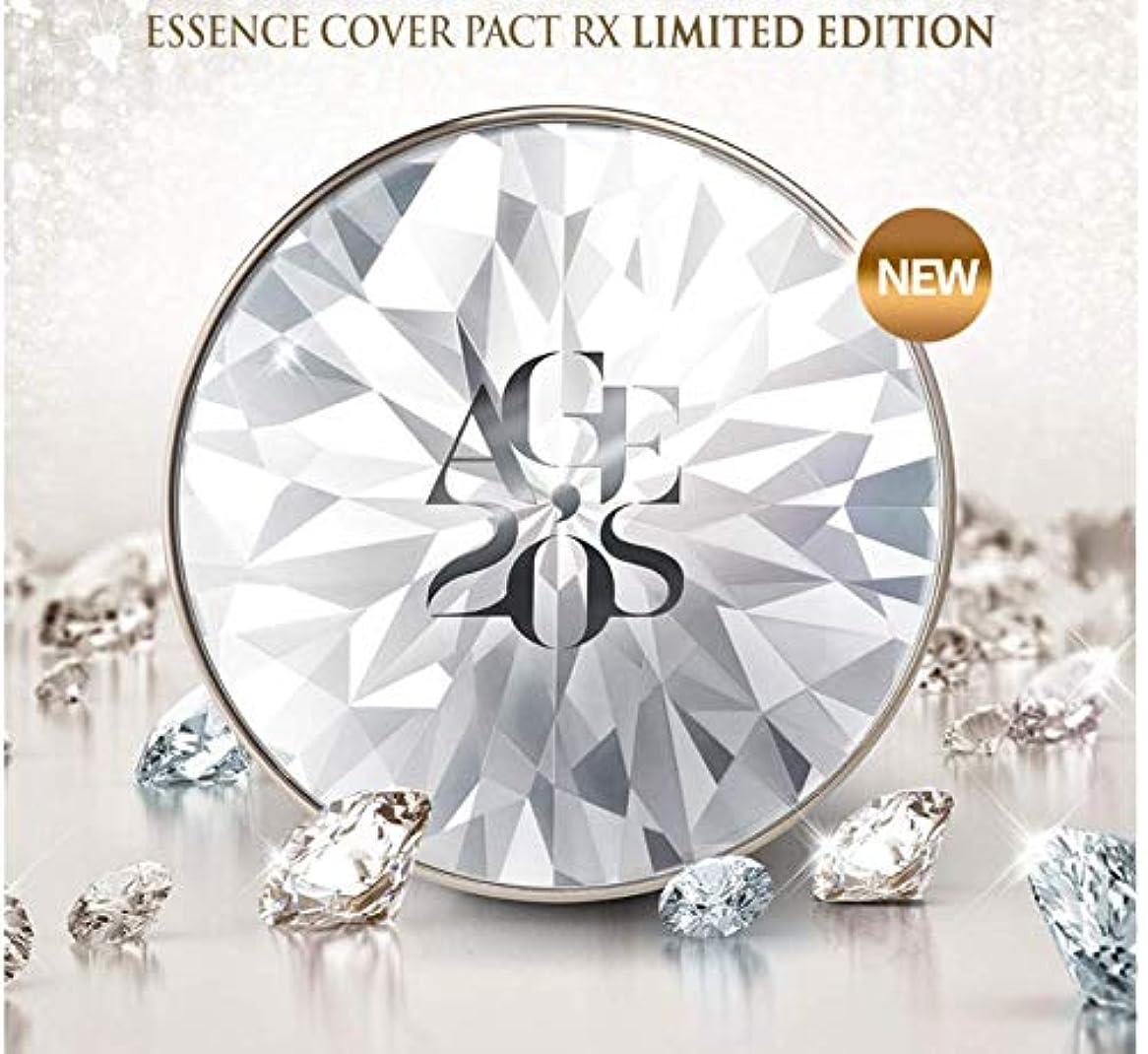 かまどリネン司書AGE20'sシーズン10 エッセンスカバーファクトRXリアルダイヤモンド版 23号 12.5g / SEASON10 ESSENCE COVER PACT RX LIMITED EDITION #23 [並行輸入品]