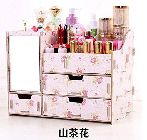 (ウィンコ)Winko Makeup receive a case可愛い 超大 化粧品収納ボックス メイクボックス  コスメボックス テーブルの整理ボックス タンスタイプ ジュエリー ボックス 引き出しのタイプ 山茶花