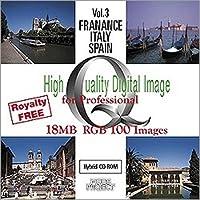 High Quality Digital Image for Professional Vol.003 フランス・イタリア・スペイン