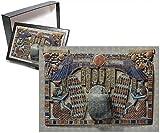 フォトジグソーパズルof Pectoral decorated with winged scarab、Protected By The Goddesses Isisと