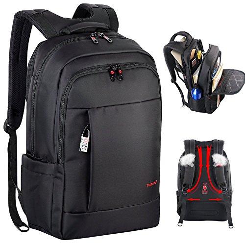 Kuprine pc リュック メンズ ビジネス バッグ パソコン 人気 防水 大容量 旅行 学生 通勤 17インチ 黒