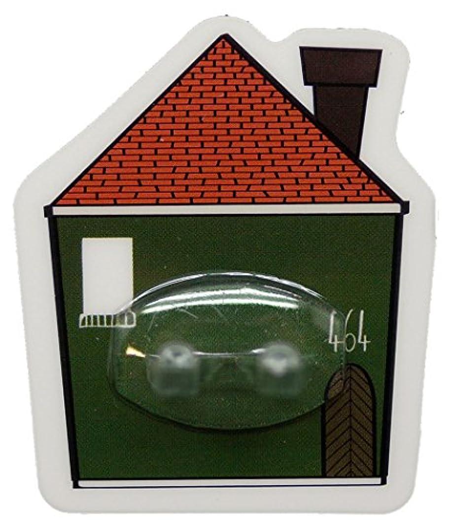 イチゴヘルパー決めますPALAS & DECORE LUONNOS Nordis(ノルディス) マジックシートフック ハブラシホルダー ハウスグリーン NRD-10 A