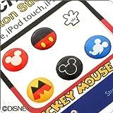 Touch me! ディズニー Diseny キャラクター ホームボタン タッチボタン ステッカー シール for iPhone5 iPhone4s iPod iPad iPhone 対応 ミッキー