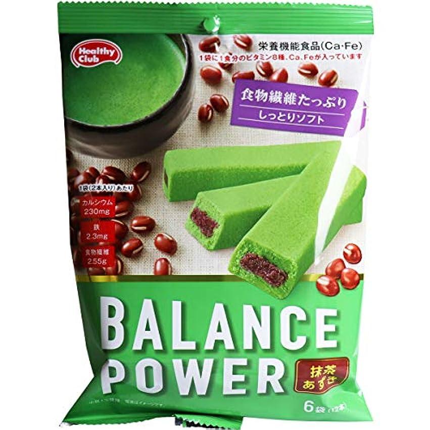 リンク窒素品種※ヘルシークラブ バランスパワー 抹茶あずき 6袋(12本)入×20個セット
